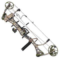 2012 Bear Archery Mauler RTH Compound Bow Pkg