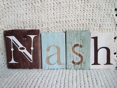 Wooden letter signs---Random letters or blocks w/ words (quotes) holidays....