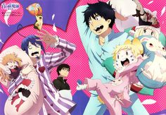 Description: The story revolves around Rin Okumura, a teenager possessing abnormal strength and endurance who, along with his youn...