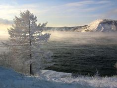 Lake Baikal, Siberia. January 2012. I've never seen more than 2 inches of snow & I'm going here...so doomed, haha!