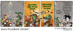 Christmas carolers ... delicious!!! #WebComic #Zombie #Jesus #Christmas #Vampire Christmas Carol, Seasons, Baseball Cards, Adventure, Christmas Music, Seasons Of The Year, Adventure Game, Adventure Books
