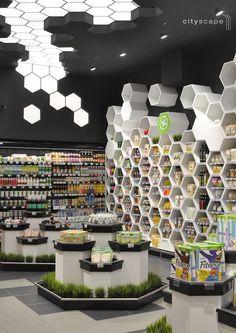 supermarket Fantastiko FFF21 bio cityscape architects Sofia, Bulgaria