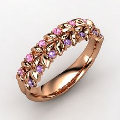 Love these colors together- beautiful and unique- I would love this as a toe ring. I want!!-