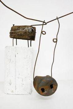 Driftwood cow Driftwood art Christian Voltz