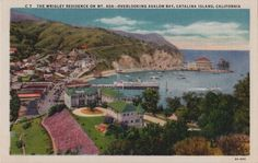 The Catalina Island, CA residence of chewing-gum magnate William Wrigley, Jr