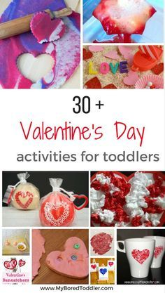 valentine's Day Crafts activities and ideas for toddlers and preschoolers pinterest