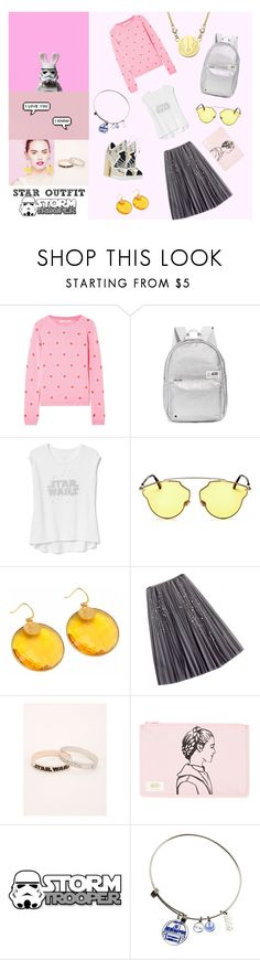 """""""Star trooper"""" by dudettelucy ❤ liked on Polyvore featuring Chinti and Parker, State, Gap, Nicholas Kirkwood, Christian Dior, Carousel Jewels, WithChic, Torrid, STATE Bags and Givenchy"""