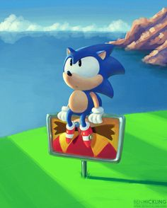 I still love you sonic the hedgehog