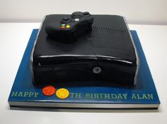 This Xbox birthday cake is certainly a hit with the younger generation especially teenagers.
