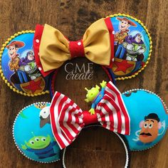 Toy Story ears.