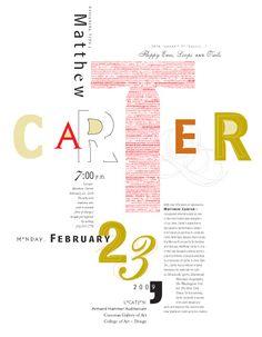 Interesting Type from typographer Matthew Carter