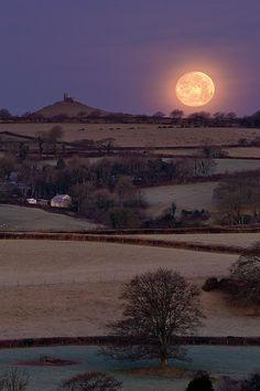 ✯ Moonset Sunrise