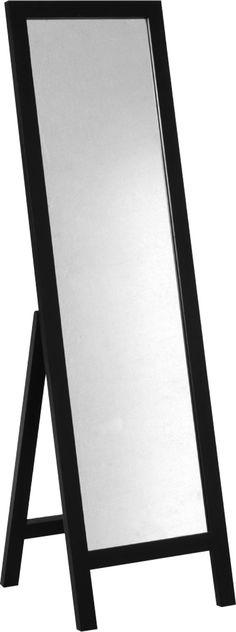 Sovereign speil i mørkbeiset, solid eik. Finnes også i naturell eik. Dimensjoner: B46 x H159 x D46,5cm. Kr. 1825,-