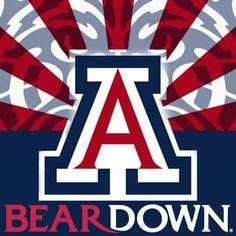 Bear Down Arizona! Univ Of Arizona, Arizona Wildcats, University Of Arizona, Basketball Games Online, Basketball Shoes For Men, Basketball Pictures, Ohio State Basketball, Wildcats Basketball, College Football