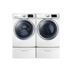 Samsung® 5.2 cu.Ft. Front Load Washer & 7.5 cu.Ft. Front Load Electric Dryer - Sears