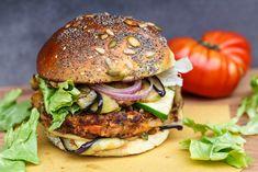 Receta de hamburguesa de berenjena  #berenjena #hamburguesadeberenjena #hamburguesavegetariana #hamburguesasvegetarianas