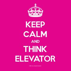 """"""" WHAT IS IT ABOUT ELEVATORS?""""  ~Fifty Shades of Grey"""