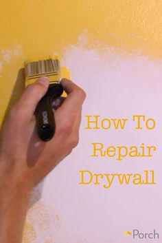 VIDEO: Accidentally put a hole in your wall? Repairing is easy with this handy video.