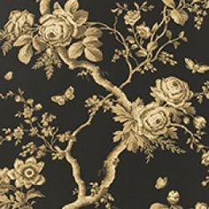 Ralph Lauren behang, Ashfield floral tobacco
