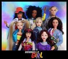 Barbie 1990, Childhood Memories 90s, Beautiful Barbie Dolls, Girls Series, Barbie Dream House, Vintage Barbie Dolls, Barbie Collector, Barbie World, Barbie Friends