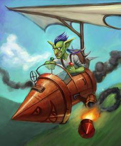 Flying rocket-bomber! by jellyxbat.deviantart.com on @DeviantArt