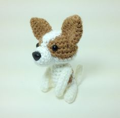 SALE / Chihuahua Crochet Dog Amigurumi Stuffed Animal Dog Handmade Doll / Made to Order
