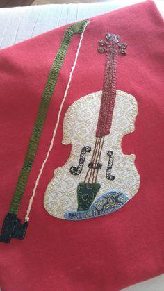 #Viola #patchwork #camiseta #handmadewithlove