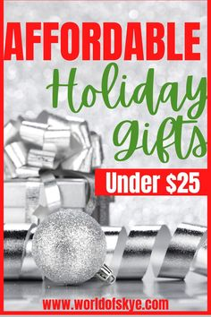 Christmas gifts that won't blow your Christmas budget. This video has some cheap Christmas gifts and use can use this gift guide 2021 to help you buy creative and practical gifts. Gift ideas under $25. Gifts for boyfriend, gifts for best friends, gift guide for women, everyone is included! These Christmas gift ideas won't disappoint and will also you have a cheap Christmas but give quality gifts using this 2021 holiday gift guide.