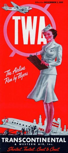 TWA-Trans World Airlines Magazine, 1939
