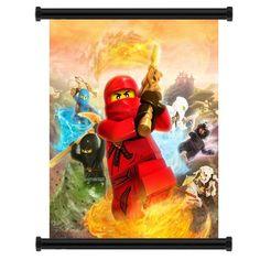ninjago bedroom murals   Lego Ninjago Bedroom Decor