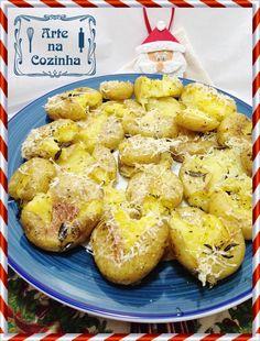 Arte na Cozinha: Especial de Natal - Acompanhamento 2: Batatas ao murro