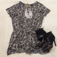 CLOSET CLEAROUTForever 21 Tribal Romper Beautiful pre-loved Forever 21 tribal romper. Size medium in excellent condition!! Forever 21 Other