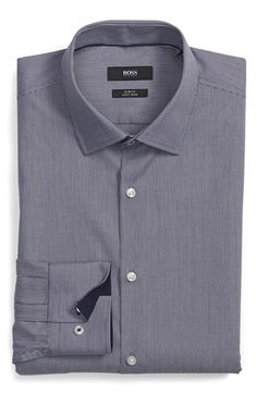 BOSS 'Joey' WW Slim Fit Dress Shirt available at #Nordstrom