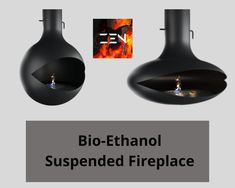 Are you looking for Zen Bio-Ethanol Suspended Fireplace? Our Zen Bio-Ethanol Suspended Fireplace is handcrafted from 5mm cold rolled steel and can rotate a full 360º. In a finish that can sustain heat up to 650ºc. Order it now.