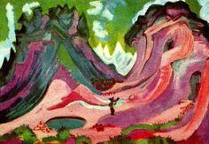 amselflue, Ernst Ludwig Kirchner