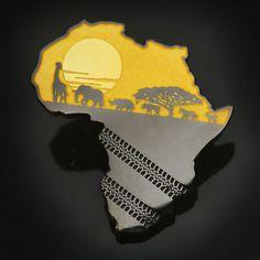 Yellow-African-Safari-Geocoin-72-MADE-Geocaching