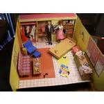 Vintage BARBIE 1960s Dream House includes Barbie & Ken (06/26/2010)