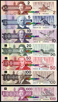 banknotes - Canada paper money catalog and Canadian currency history, before the loonie toonie Canadian Things, I Am Canadian, Canadian History, Canadian Flags, Canadian English, Canadian Dollar, Ontario, 2 Dollar Bill, Canada 150