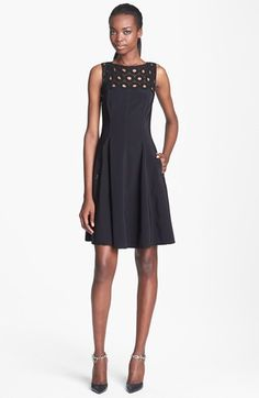 Tracy Reese Lace Yoke Frock available at #Nordstrom