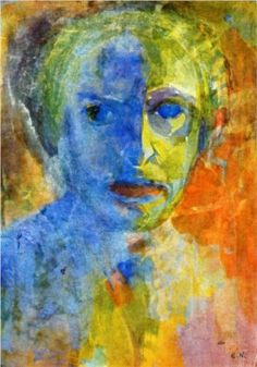 Emil Nolde - Self-portrait (1912)