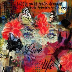 Little Girls, Scrapbooking, Painting, Color, Art, Art Background, Toddler Girls, Painting Art, Colour