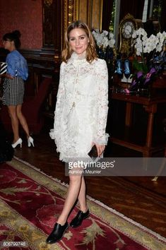 Olivia Palermo attends the dinner to celebrate the launch of Fabrizio Viti Cruise 18 Collection Back In Love Again at Hotel La Pavia on July 3 2017...