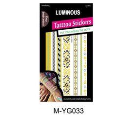 2015 new fashion Body Art skin safe temporary luminous tattoo sticker Color Change, New Fashion, Henna, Body Art, 3d, Stickers, Tattoos, Lace, Tatuajes