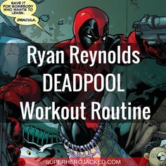 Ryan Reynolds Deadpool Workout Routine – How to get ripped like Deadpool and Green Lantern Ripped Workout, Ab Workout Men, Workout Routines, Hero Workouts, Workout Guide, Workout Ideas, Weight Training Programs, Weight Training Workouts, Ryan Reynolds Deadpool Workout