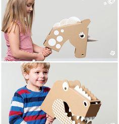 DIY met karton - Flatout Frankie – Moodkids