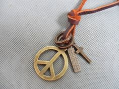 Jewelry leather necklace men necklace women
