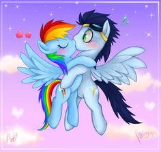Rainbow Dash ♥ Soarin