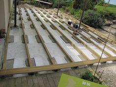 terrasse en lames de composite terrasses pinterest bricolage pots et angles. Black Bedroom Furniture Sets. Home Design Ideas