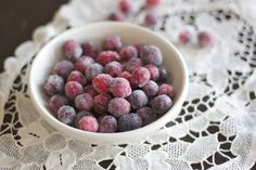 Recipe Review: 101 Cookbooks' Sparkling Cranberries