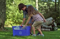 Teaching Kids to Recycle - Earth911.com #recycle #kids #parenting